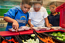 Salad Bars and Farm to School: A Healthy Match