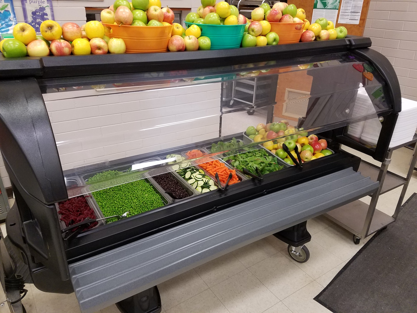 Ellensburg School District Salad Bar