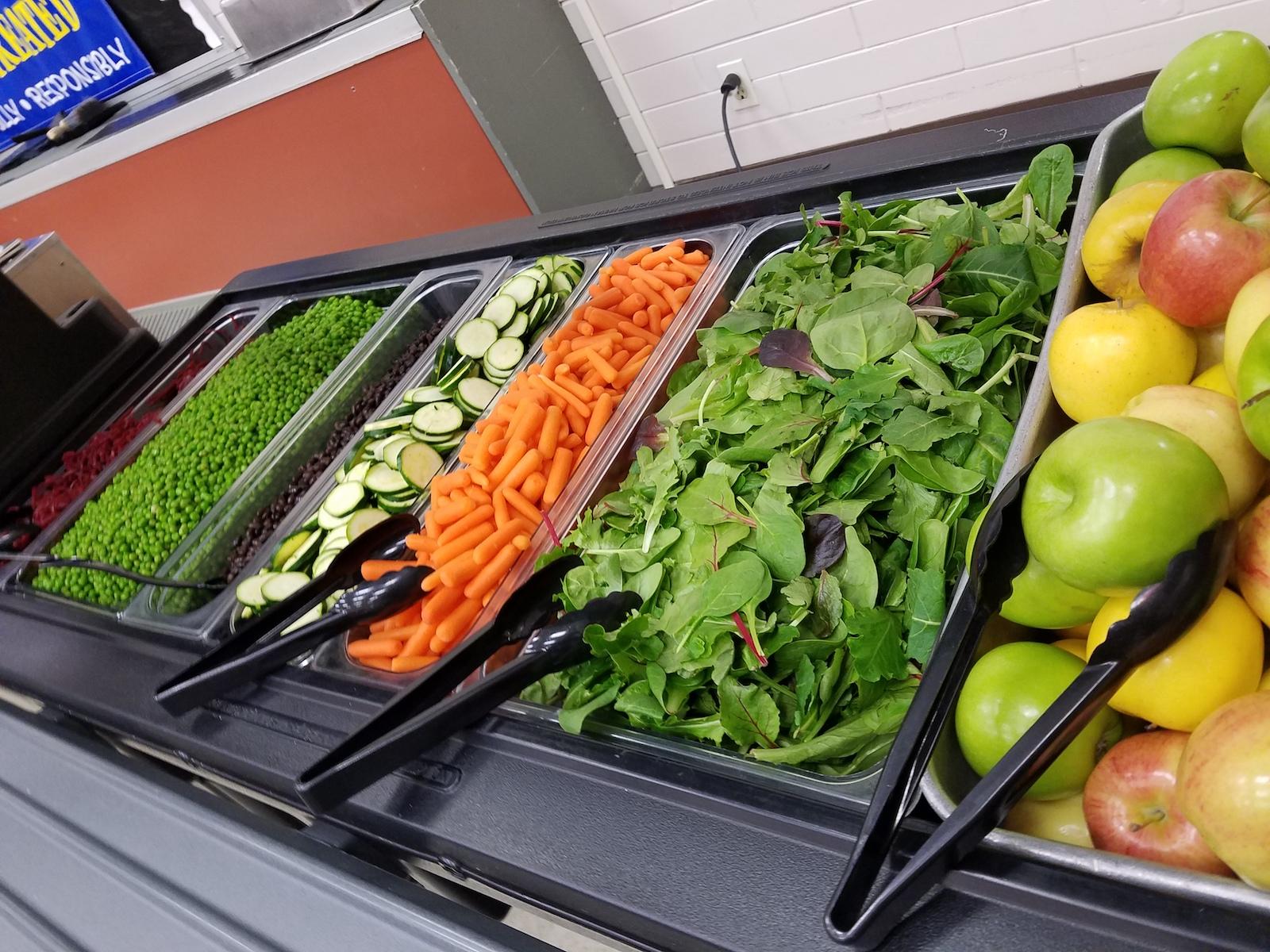 Ellensburg School District Salad Bar